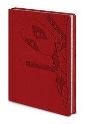 Notatnik a6 Deadpool czerwony