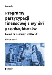Programy partycypacji finansowej a wyniki przedsiębiorstw