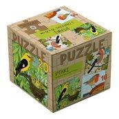 Puzzle 3 w 1 Ptaki.