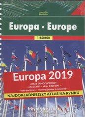 Atlas Europa 1:800 000 2019