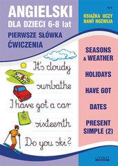 Angielski dla dzieci 9 Pierwsze słówka Ćwiczenia 6-8 lat