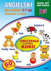 Angielski dla dzieci 23 Pierwsze słówka 3-7 lat Ćwiczenia z kurką Koko