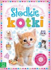 Minialbum z naklejkami Słodkie kotki