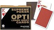 Karty do gry Piatnik 2 talie Supreme Poker Opti