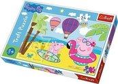 Puzzle 24 Maxi Świnka Peppa na wakacjach