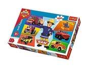 Puzzle Pojazdy strażaka Sama 100