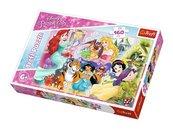 Puzzle Księżniczki i przyjaciele 160