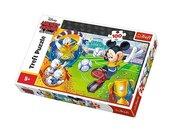 Puzzle Myszka Miki na boisku 100