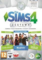 The Sims 4 Zestaw 4 (PC) PL DIGITAL