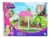 Barnila Outdoor Garden Domek z laleczką