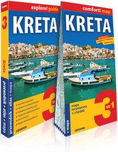 Kreta 3w1 przewodnik + atlas + mapa