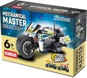 Klocki konstrukcyjne Gearblox Motocykl Policyjny Mechanical Master