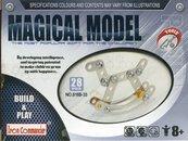 Magical Model Metalowy konik na biegunach 28 części