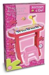 Organy elektroniczne 31 klawiszy z mikrofonem, statywem, stołkiem