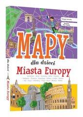Miasta Europy Mapy dla dzieci