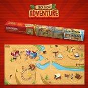 Podkład Adventure Dziki Zachód
