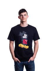 Disney Mickey Pixels T-shirt S