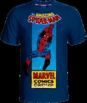 Marvel Spiderman Comics T-shirt L