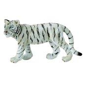 Białe tygrysiątko idące M