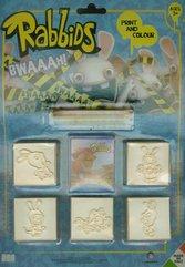 Pieczątki Blister 5 sztuk Rabbids