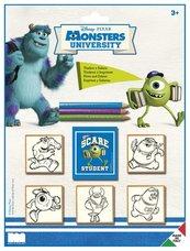 Pieczątki Monsters Uniwersity