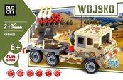 Klocki Blocki Wojsko Wyrzutnia rakiet 210 elementów