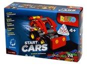 Klocki Roto Start Cars 74 elementy