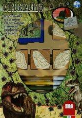 Pieczątki 4 sztuki Dinozaur