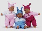Lalka bobas Baby sweetheart 21 cm niebieski