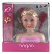 Głowa lalki do stylizacji Megan