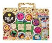Pieczątki Multiprint Smiley World 7 sztuk w walizce