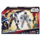 Star Wars: Hero Mashers Han Solo Kontra Boba Fett
