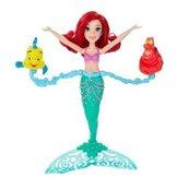 Disney Princess Pływająca Ariel ze zwierzakami