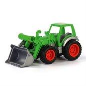 Farmer-technik traktor ładowarka w siatce