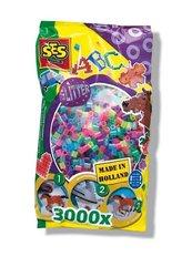 Koraliki do prasowanek 3000 sztuk neonowy miks
