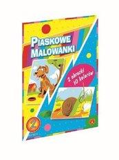 Piaskowa Malowanka Pies Ślimak