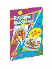 Piaskowa Malowanka Kameleon Paw