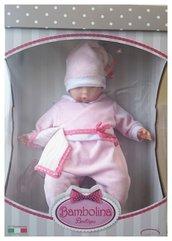 Lalka Bambolina Boutique różowe śpioszki 48 cm