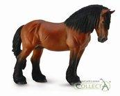 Koń ardeński maści gniadej XL