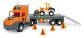 Super Tech Truck laweta ze spychaczem