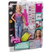 Barbie Zrób to sama Modne naklejki