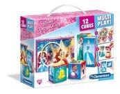 Klocki Cubes Multiplay Księżniczki