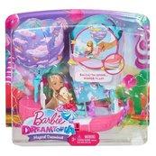 Barbie Chelsea Magiczna łódka + lalka