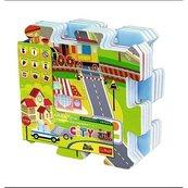 Edukacyjna układanka Puzzlopianka City