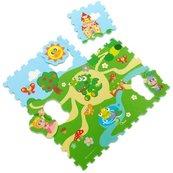 Miękkie puzzle Zamek 9 sztul