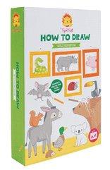Nauka rysowania - motyw Królestwo Zwierząt