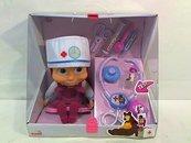 Masza lalka + zestaw doktora