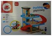 Parking drewniano-plastikowy