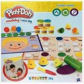 Play-Doh Modeluj i ucz się Literki i mowa