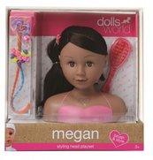 Głowa do stylizacji Megan